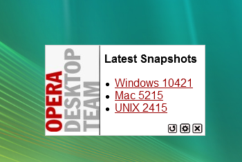 Opera Desktop Team – Latest Snapshots