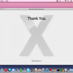 Mac OS X Lion 10.7 Installation Complete