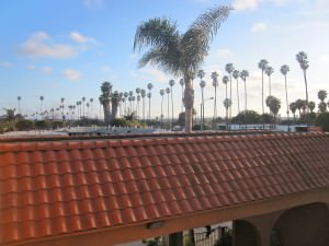Hotel view in Los Angeles. It was cheap. That is all.